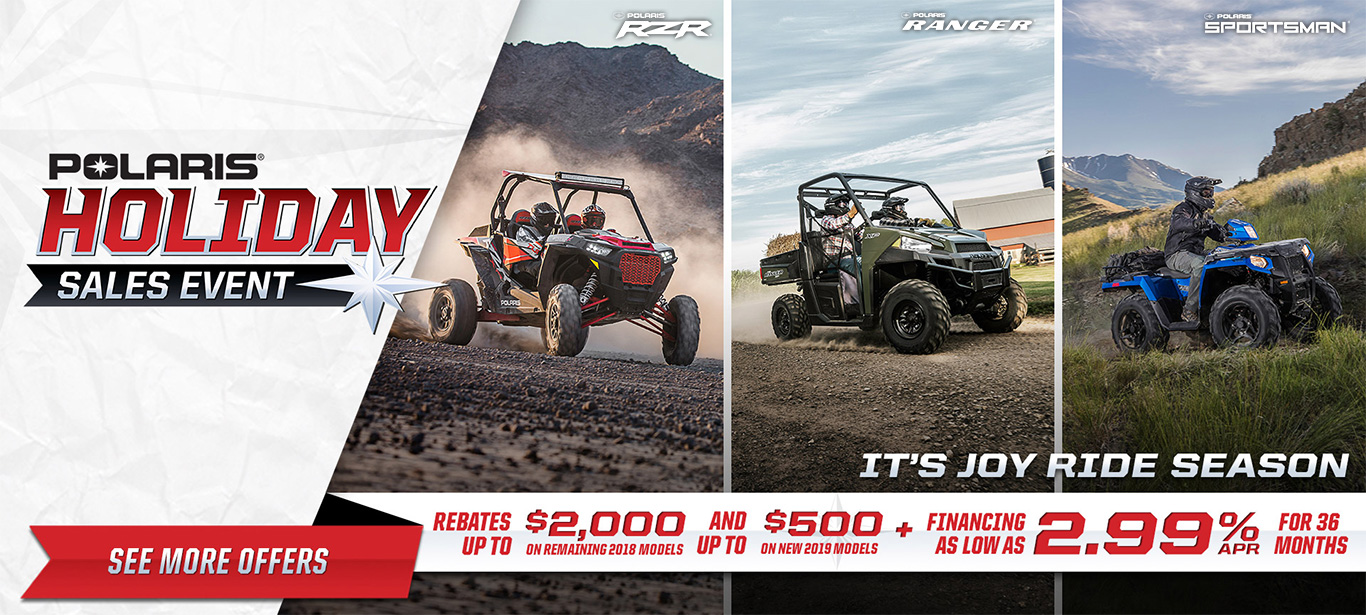 Polaris Holiday Sales Event 2017